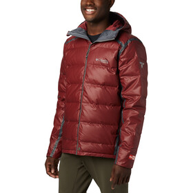 Columbia OutDry Ex Alta Peak Untuvatakki Miehet, red jasper heather